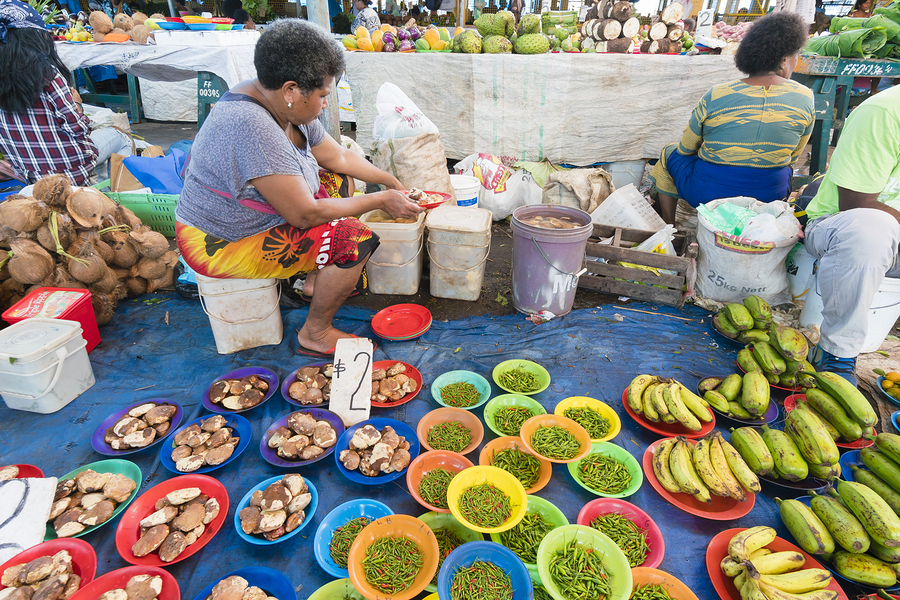 matmarknad fiji - Mat & dryck på Fiji